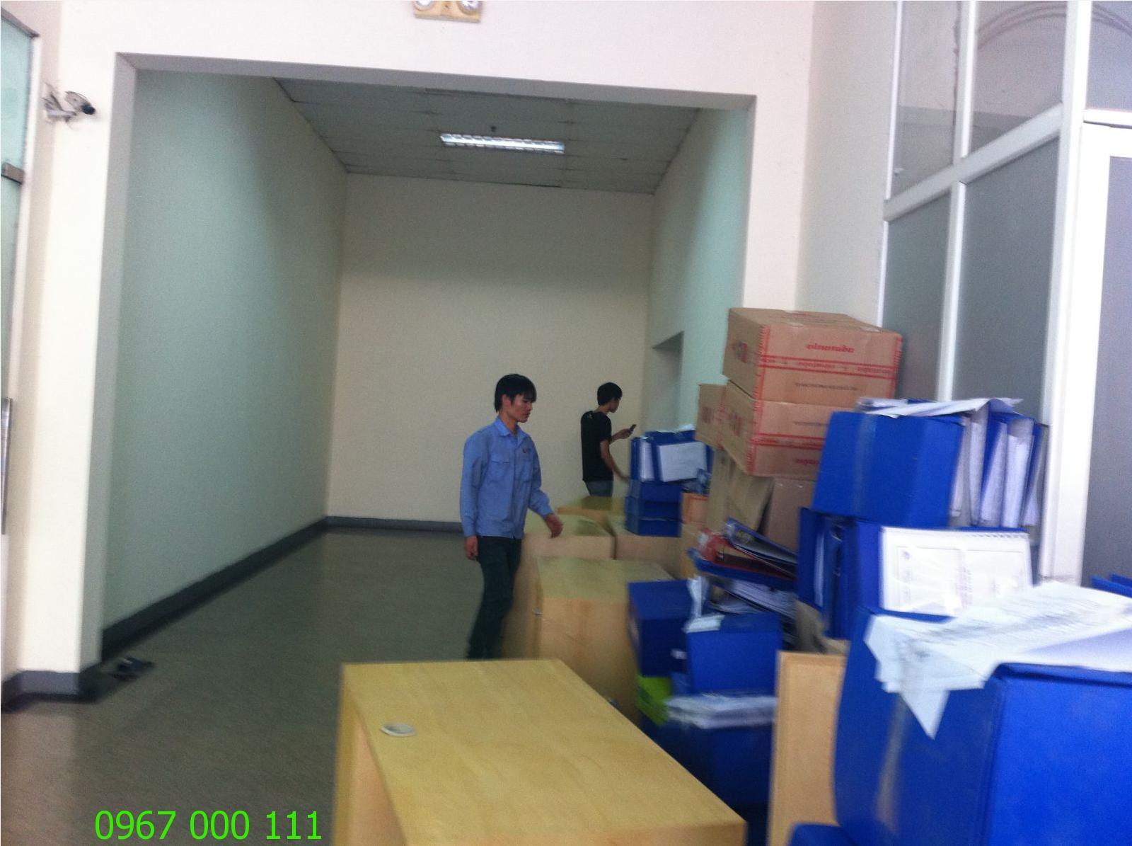 Chuyển văn phòng chung cư giá rẻ Hà Nội