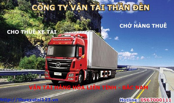 cho thuê xe tải vận chuyển hàng