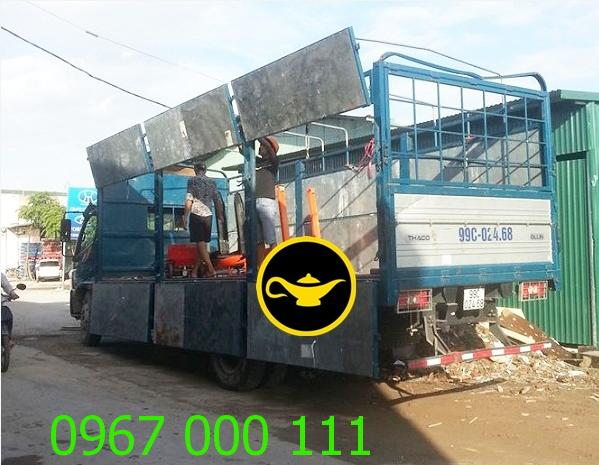 Vận tải kho hàng hóa 1200m2 Mỹ Đình
