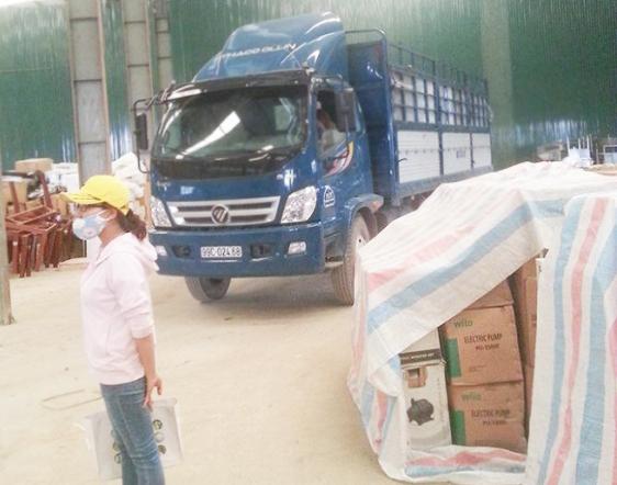 Hợp đồng vận tải dọn kho công ty