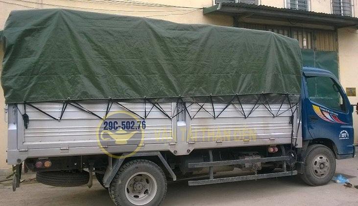Xe tải chở hàng Thần Đèn