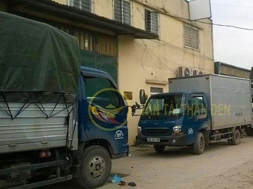 Xe tải chở hàng thuê uy tín giá rẻ Hà Nội