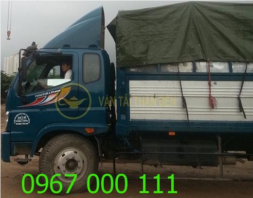 Xe tải chở hàng thuê Thần Đèn uy tín chất lượng