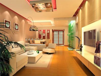 Thiết kế ánh sáng hài hòa cho phòng khách
