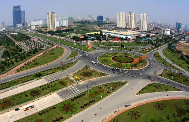 Hệ thống giao thông ở Việt Nam khá phức tạp