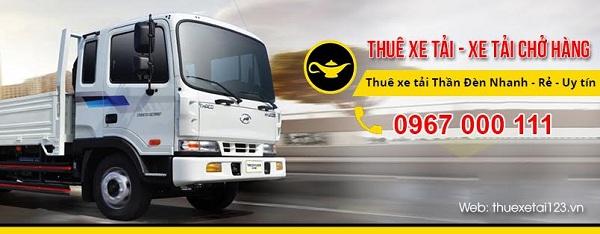 Cho thuê xe tải 123 Thần Đèn