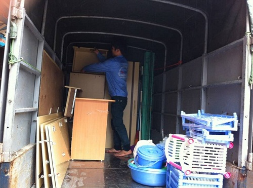 Cho thuê xe tải chuyển nhà Thần Đèn tết 2016