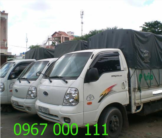 Cho thuê xe trọng tải 1 tấn, 1 tấn 25, 1 tấn, 2,5 tấn, 3 tấn Hà Nội