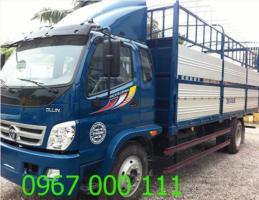 Thuê xe tải 8 tấn chở hàng giá rẻ tại Hà Nội