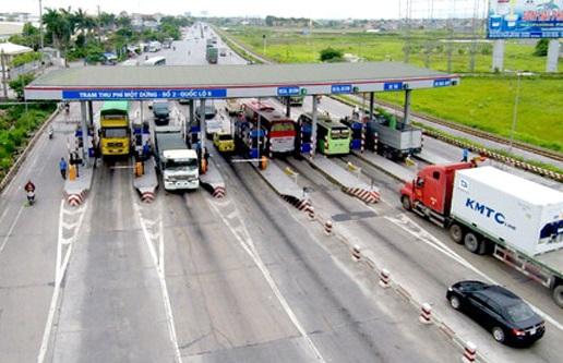 tăng cước vận tải do phí cầu đường tăng