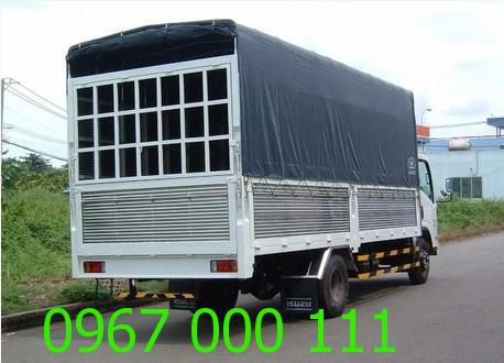Xe tải chở điều hòa - đồ điện tử nhanh rẻ Hà Nội
