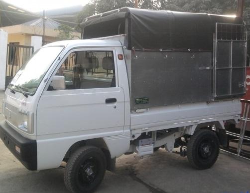 Xe tải nhỏ chở hàng thuê giá rẻ