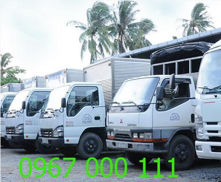 Thuê xe tải 1.25 tấn, 3.5 tấn, 5 tấn chạy hợp đồng
