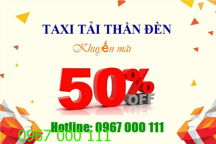 Taxi tải chở hàng liên tỉnh giảm giá 50%