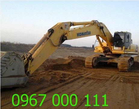 Cho thuê máy xúc đào PC 450-8 giá rẻ tại Hà Nội
