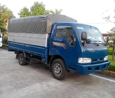 Xe tải 2 tấn 4 chở hàng thuê tại Cầu Giấy