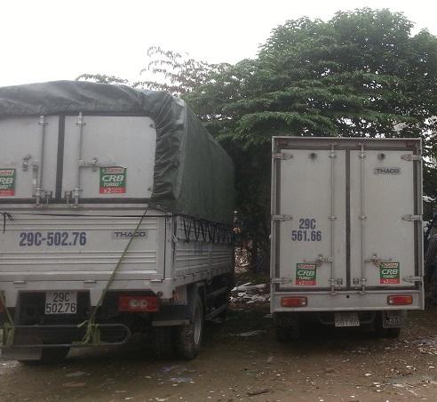 Xe tải chở hàng giá rẻ tại Hoàng Mai