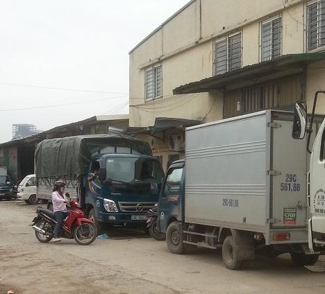 thuê xe tải chở hàng tại Hoàng Mai
