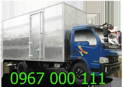 Cho thuê xe tải 1.1 tấn chở hàng giá cực rẻ