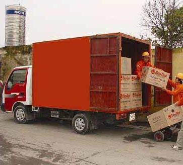 Cho thuê xe chở hàng chạy hợp đồng tết 2017
