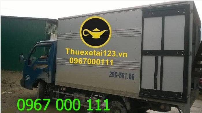 Cho thuê taxi tải vận chuyển theo hợp đồng