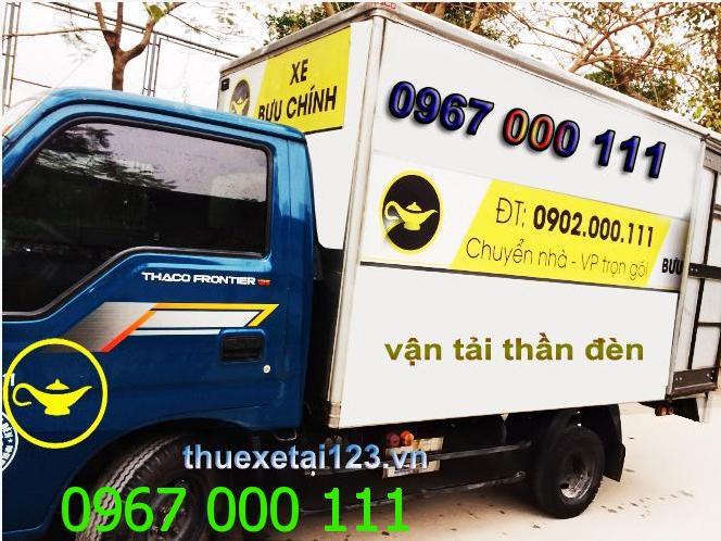 Taxi tải chở hàng ngày tết Đinh Dậu 2017