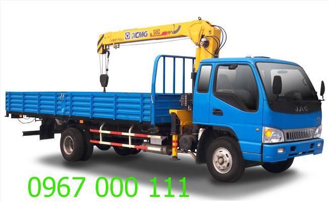 Dịch vụ cho thuê xe tải gắn cẩu rẻ nhất tại Hà Nội
