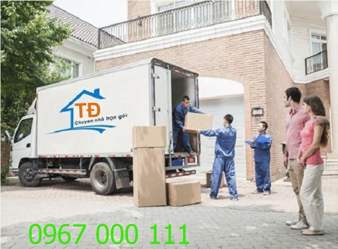Dịch vụ chuyển nhà trọn gói giá rẻ tại Ba Đình
