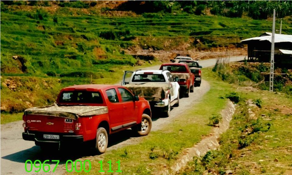Thuê xe bán tải tự lái tiện ích nhất tại Thần Đèn