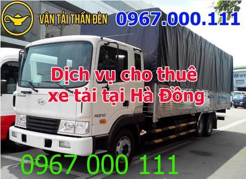 Cho thuê xe tải chở hàng khu vực Hà Đông