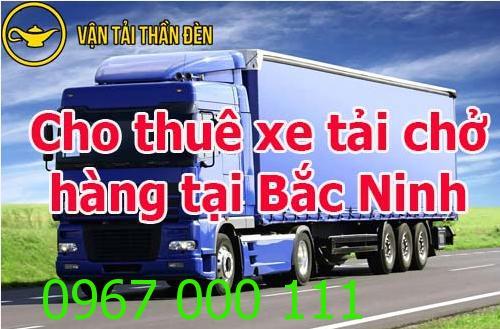 Cho thuê xe tải chở hàng tại Bắc Ninh