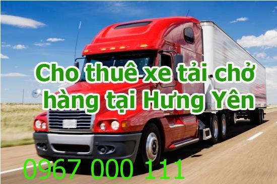 Cho thuê xe tải chở hàng tại Hưng Yên