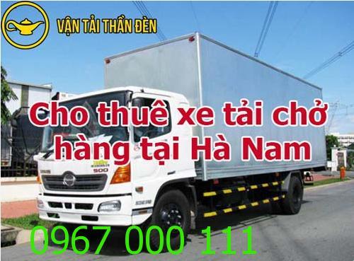 Cho thuê xe tải chở hàng tại Hà Nam