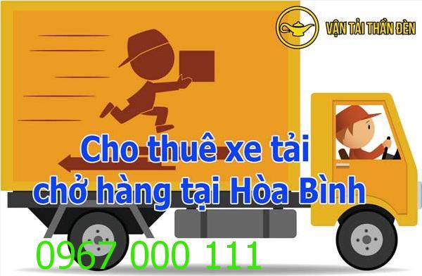 Cho thuê xe tải chở hàng tại Hòa Bình