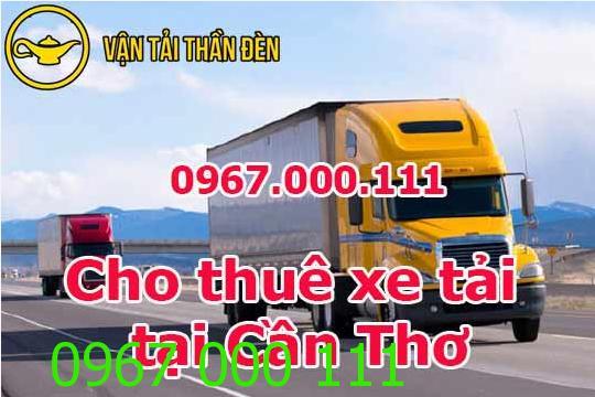 Dịch vụ cho thuê xe tải chở hàng tại Cần Thơ