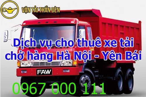 Cho thuê xe tải chở hàng đi Hà Nội - Yên Bái