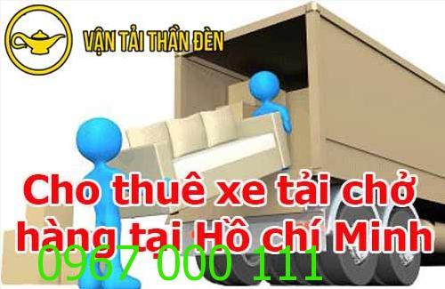 Cho thuê xe tải chở hàng tại TP Hồ Chí Minh