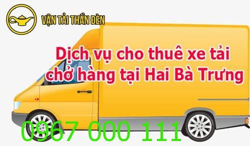Cho thuê xe tải chở hàng tại Hai Bà Trưng