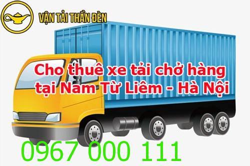 Cho thuê xe tải chở hàng tại Nam Từ Liêm