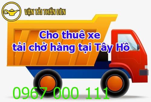 Cho thuê xe tải chở hàng tại Tây Hồ