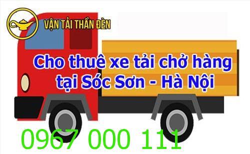 Cho thuê xe tải chở hàng tại Sóc Sơn - Hà Nội