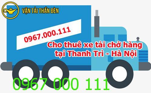 Cho thuê xe tải chở hàng tại Thanh Trì