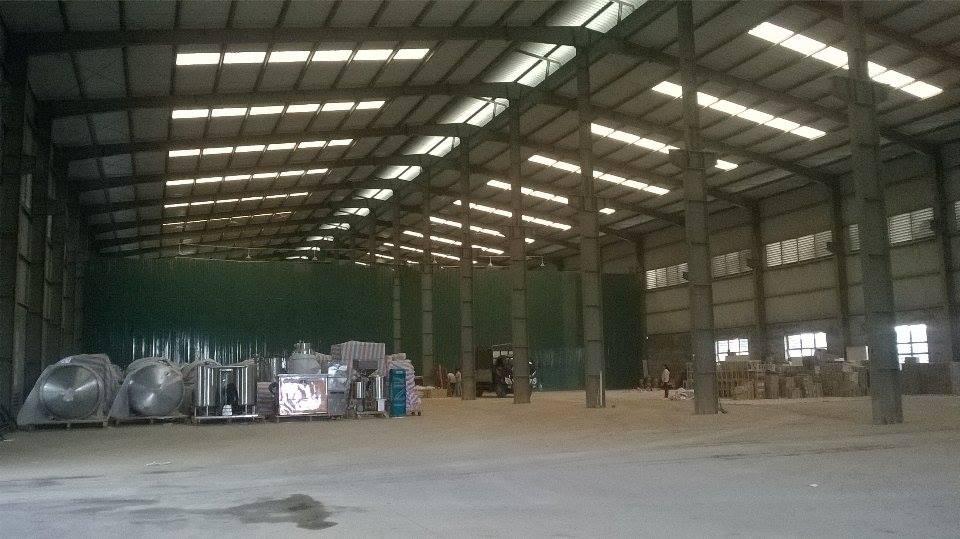 Kho xưởng mới rộng lớn tại An Khánh