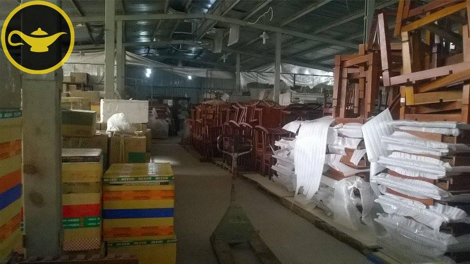 Hàng hóa trong kho xưởng tại Mỹ Đình