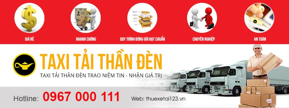 Dịch vục taxi tải Thần Đèn