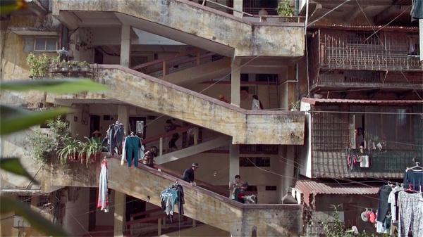 Khu chung cư không có thang máy