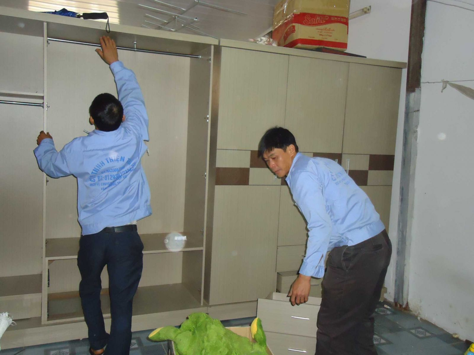 Dịch vụ chuyển văn phòng trọn gói Thần Đèn chuyên nghiệp