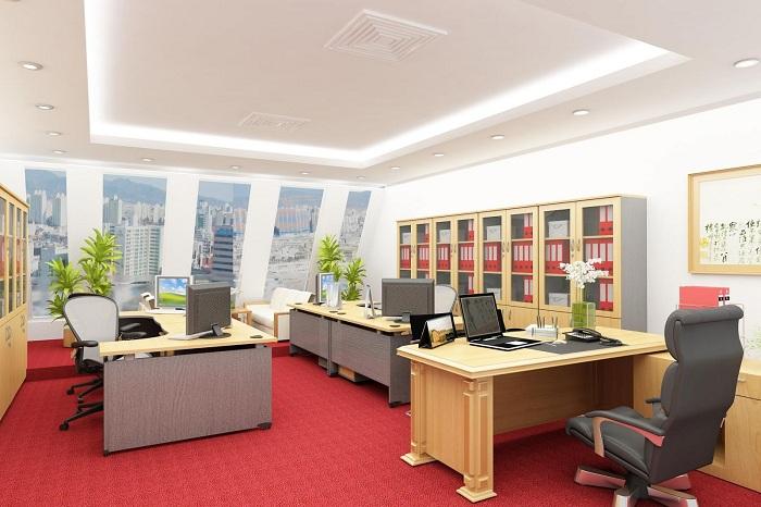 Thiết kế không gian văn phòng theo phong thủy