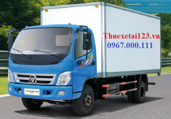 Taxi tải thùng kín đảm bảo an toàn đồ đạc