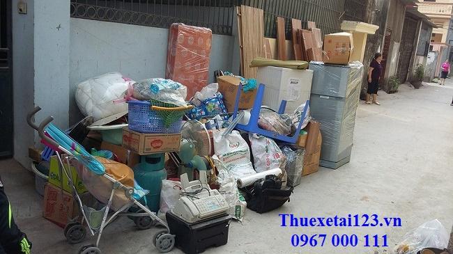 Nhiều đồ đạc gia đình cần phải vận chuyển